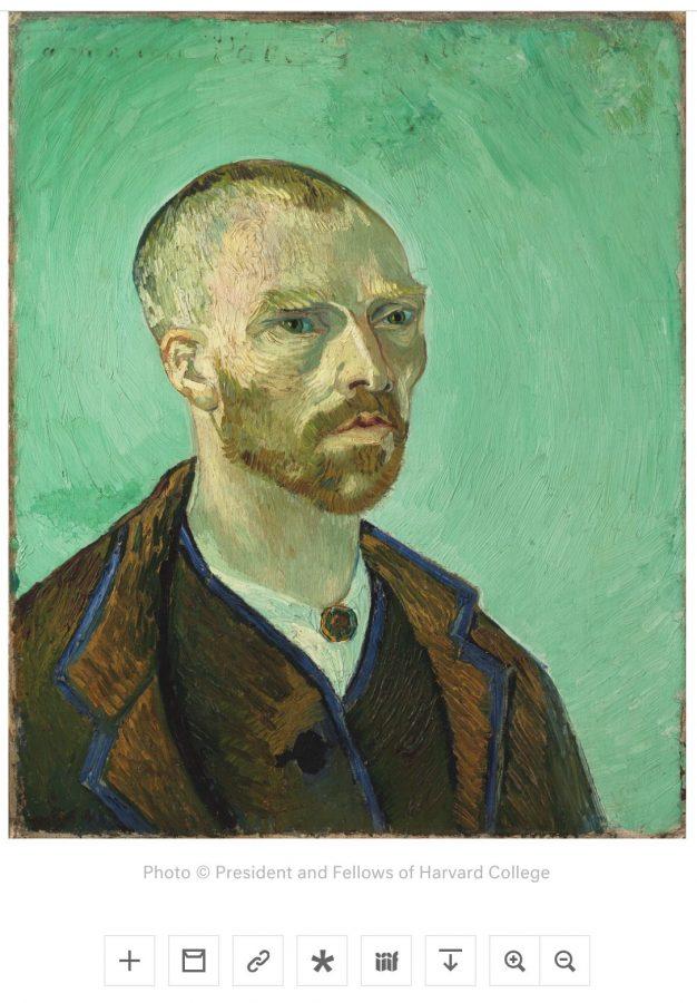 Painting, self portrait